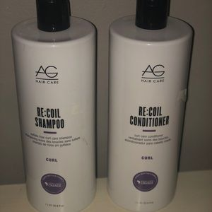AG Re - Coil Shampoo and Conditioner
